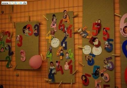 Fabulous Geburtstagskalender für Kitas, Krippe und Tagespflege - KitaKram.de XF93
