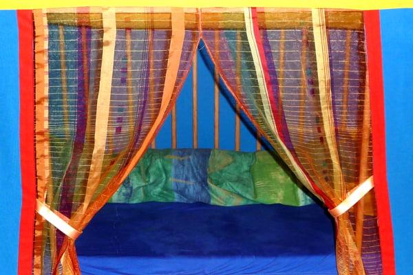 Genial: Gitterbett in neuer Funktion
